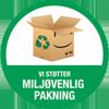 Logo af miljøvenlig pakning